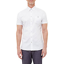 Buy Ted Baker T for Tall Wooett Short Sleeve Shirt Online at johnlewis.com
