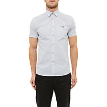 Buy Ted Baker Rinalin Shirt, White Online at johnlewis.com