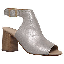 Buy Carvela Koal Block Heeled Sandals, Gold Online at johnlewis.com