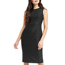 Buy Oasis Hannah Workwear Dress, Black Online at johnlewis.com