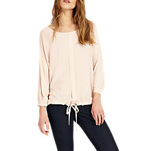 Buy Phase Eight Dion Drawstring Top, Dusty Pink Online at johnlewis.com