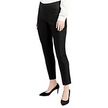 Buy Oasis Hannah Trousers, Black/White Online at johnlewis.com