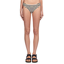 Buy Whistles Ohio Stripe Bikini Bottoms, Multi Online at johnlewis.com