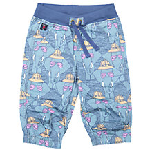 Buy Polarn O. Pyret Children's Elephant Shorts, Blue Online at johnlewis.com