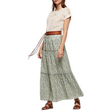 Buy Gerard Darel Juna Skirt, Green Online at johnlewis.com