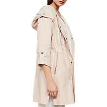 Buy Mint Velvet Blossom Lined Parka, Pink Online at johnlewis.com