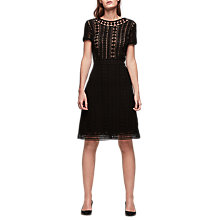Buy Gerard Darel Charm Dress, Black Online at johnlewis.com