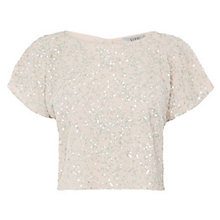 Buy Coast Ivi Sequin Bridesmaids Top, Mint Online at johnlewis.com