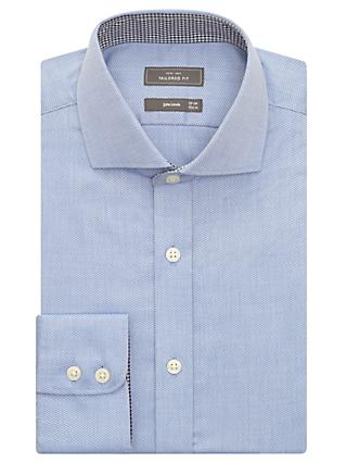John Lewis & Partners Non Iron Dobby Tailored Fit Shirt
