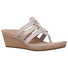 Buy UGG Maddie Wedge Heeled Sandals Online at johnlewis.com