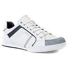 Buy Geox Kristof Trainers, White Online at johnlewis.com