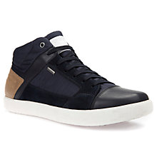 Buy Geox Taiki ABX Waterproof Trainers, Navy Online at johnlewis.com
