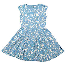 Buy Polarn O. Pyret Girls' Flower Dress, Blue Online at johnlewis.com