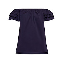Buy Ted Baker Jaid Ruffle Sleeve Bardot Top Online at johnlewis.com