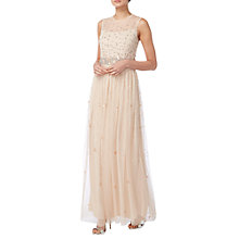 Buy Raishma Stone Work Gown, Blush Online at johnlewis.com