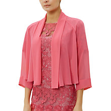 Buy Fenn Wright Manson Petite Miro Shrug, Pink Online at johnlewis.com
