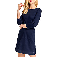 Buy Oasis Ruby Denim Shift Dress, Dark Wash Online at johnlewis.com