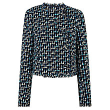 Buy L.K. Bennett Vetti Tweed Jacket, Multi Online at johnlewis.com