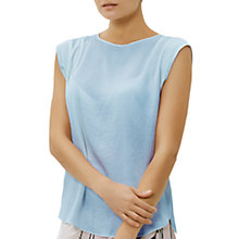 Buy Fenn Wright Manson Petite Corfu Top, Pale Blue Online at johnlewis.com