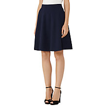 Buy Reiss Hannah Textured Skirt, Night Navy Online at johnlewis.com