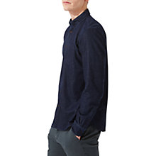 Buy Jigsaw Finlay Denim Shirt Rinse Wash, Indigo Online at johnlewis.com