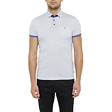 Buy Ted Baker Callie Geo Print Cotton Polo Shirt Online at johnlewis.com