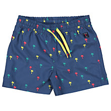 Buy Polarn O. Pyret Children's Palm Print Swim Trunks Online at johnlewis.com