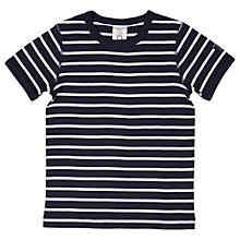Buy Polarn O. Pyret Children's Striped T-Shirt Online at johnlewis.com