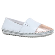 Buy Carvela Comfort Chrissy Closed Pumps, White/Other Online at johnlewis.com
