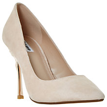 Buy Dune Buds Stiletto Heeled Court Shoes, Blush Online at johnlewis.com