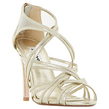 Buy Dune Media Multi Strap Stiletto Sandals Online at johnlewis.com