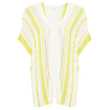 Buy Sita Murt Open Knit Stripe Cardigan, Unic/Yellow Online at johnlewis.com