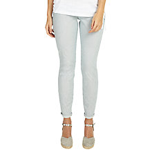 Buy Phase Eight Victoria Vertical Stripe Jeans, Navy/White Online at johnlewis.com