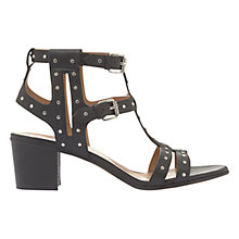 Buy Mint Velvet Wendy Studded Block Heeled Sandals Online at johnlewis.com