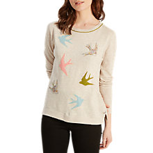 Buy White Stuff Spring Birds Jumper, Multi Online at johnlewis.com