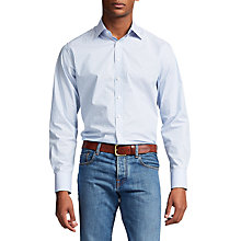 Buy Thomas Pink Clarkin Check Slim Fit Shirt, Lilac/Turquoise Online at johnlewis.com