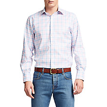 Buy Thomas Pink Hercules Check Classic Fit XL Sleeve Shirt Online at johnlewis.com