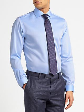 John Lewis & Partners Non Iron Twill Slim Fit Shirt