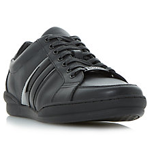 Buy Dune Taran Leather Trainers Online at johnlewis.com