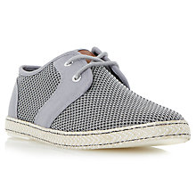 Buy Dune Fennton Lace-Up Shoes, Grey Online at johnlewis.com