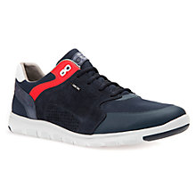 Buy Geox Xunday Double-Fit Trainers, Navy Online at johnlewis.com