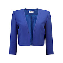 Buy Precis Petite Soline Cropped Jacket, Blue Online at johnlewis.com