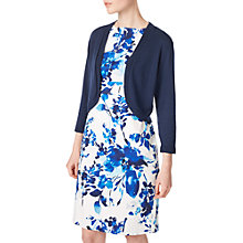 Buy Precis Petite Carly Cropped Cardigan, Navy Online at johnlewis.com
