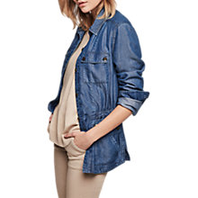 Buy Gerard Darel Jordyn Jacket, Blue Jeans Online at johnlewis.com