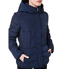 Buy Precis Petite Quilted Hooded Jacket Online at johnlewis.com