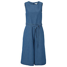 Buy White Stuff Saffron Jumpsuit, Denim Online at johnlewis.com