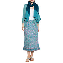 Buy East Anokhi Yasmin Crinkle Skirt, Capri Online at johnlewis.com