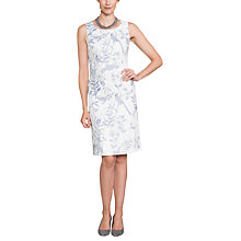 Buy East Linen Victoire Delphine Dress, Pearl Online at johnlewis.com
