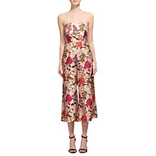 Buy Whistles Hydrangea Tie Back Jumpsuit, Pink/Multi Online at johnlewis.com