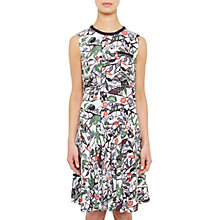 Buy Ted Baker Colour By Numbers Lockett Bias Cut Drop Waist Dress, Grey Online at johnlewis.com